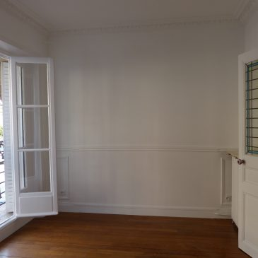 Rénovation d'un appartement parisien