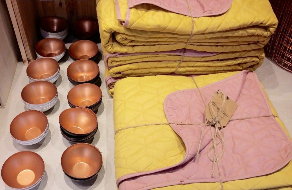 plaid en coton