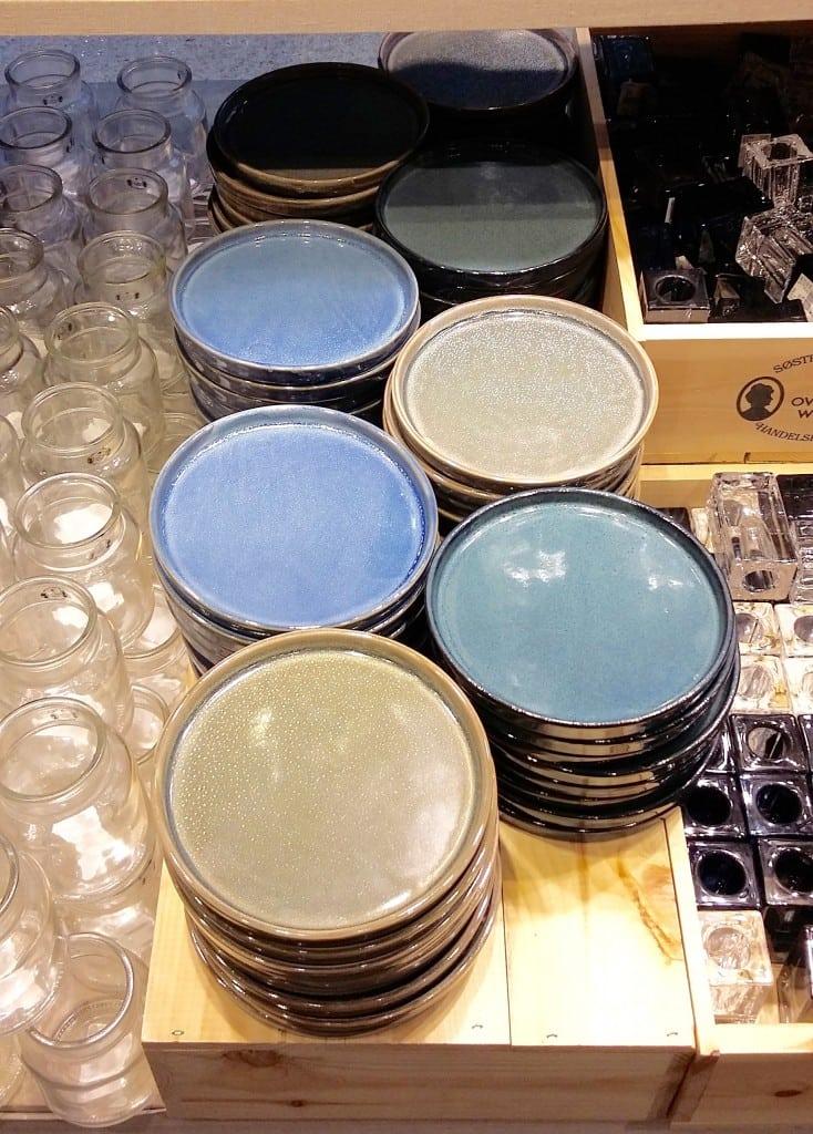 assiettes en céramiques