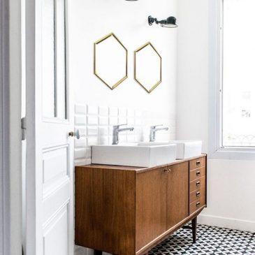 Salle de bain, mes repérages Pinterest