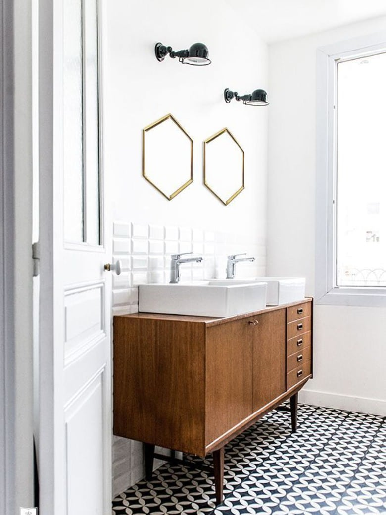 salle de bain mes rep rages pinterest camille victor. Black Bedroom Furniture Sets. Home Design Ideas