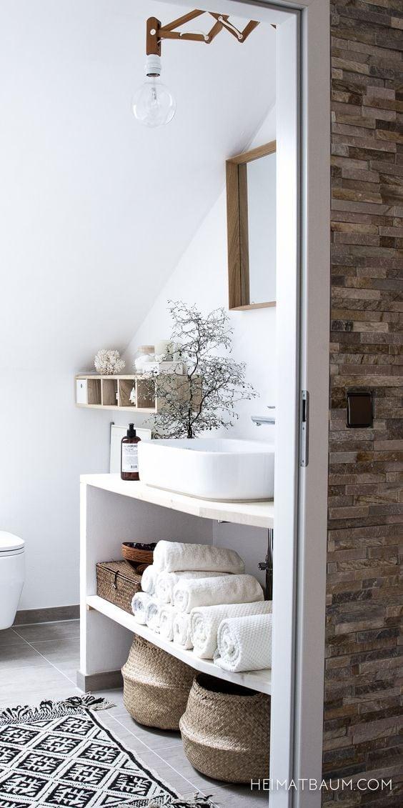 coin lavabo