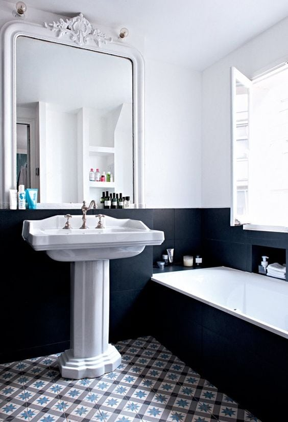 salle de bain mes rep rages pinterest camille victor. Black Bedroom Furniture Sets. Home Design Ideas