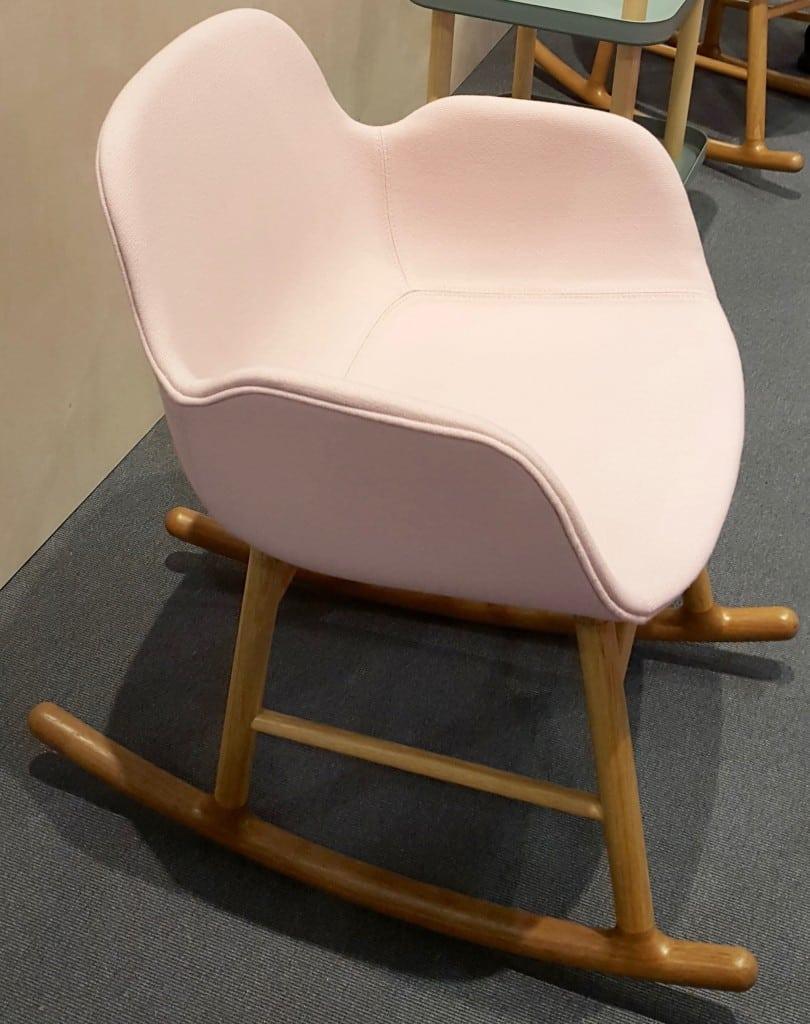 Chaise à bascule Cinna