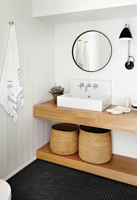Salle de bain mes rep rages pinterest camille victor - Salle de bain petit carreaux ...