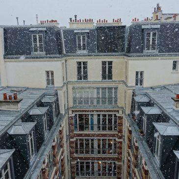 Mise en peinture d'un appartement parisien